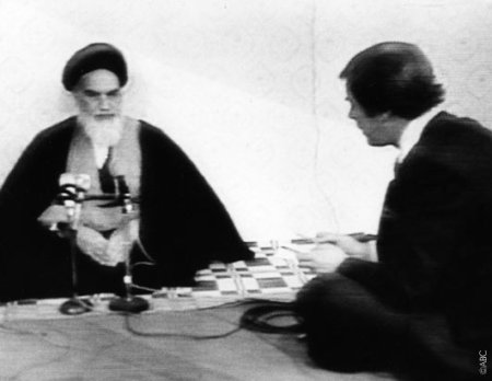 The Ayatollah Ruholla Khomeini gives his endorsment to proposition 8